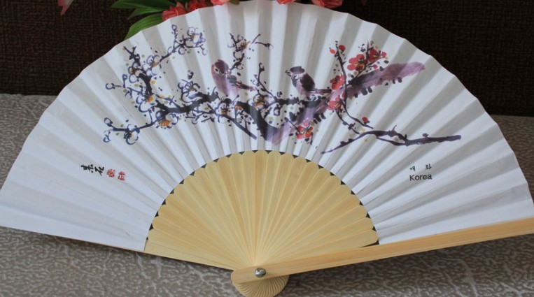 Korea Bamboo Fan